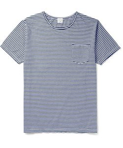 Orslow | Striped Cotton-Jersey T-Shirt