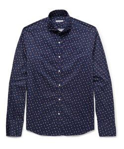 Michael Bastian | Slim-Fit Printed Cotton Shirt
