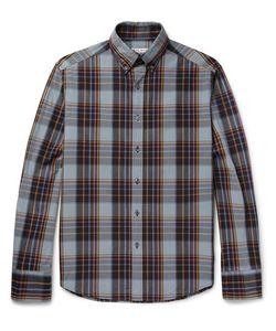 Michael Bastian | Slim-Fit Button-Down Collar Checked Cotton Shirt
