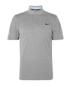 Nike Golf | Slim-Fit Printed Dri-Fit Piqué Polo Shirt