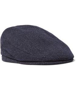 Lock & Co Hatters | Mélange Virgin Wool Flat Cap