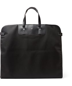 Mont Blanc | Montblanc Nightflight Leather-Trimmed Nylon Garment Bag