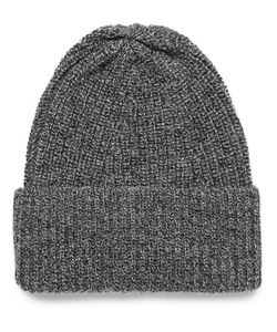 The Workers Club | Ribbed Mélange Merino Wool Beanie