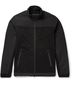 Reigning Champ | Crepe-Panelled Cotton-Jersey Jacket