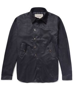 CASELY-HAYFORD | Caely-Hayford Cheterton Corduroy-Trimmed Cotton-Twill Hirt Jacket