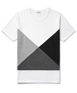 Aloye | Colour-Block Cotton-Jerey T-Hirt