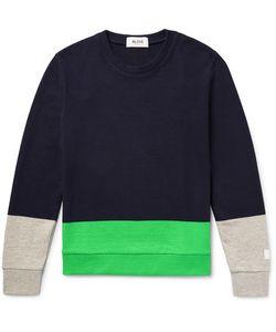 Aloye   Colour-Block Cotton Weater