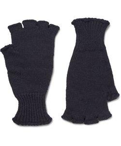 MARGARET HOWELL | Mhl Ribbed Wool Fingerless Gloves