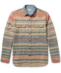 Faherty | Durango Cotton-Jacquard Overshirt