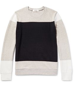 Aloye | Colour-Block Cotton And Yak-Blend Weater