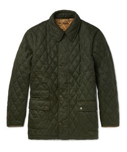 Cordings | Quilted Wool Field Jacket