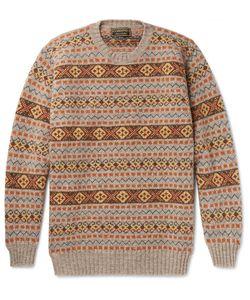Cordings | Cording Fairile Hetland Wool Weater