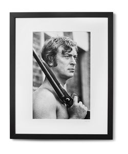 Sonic Editions | Framed Michael Caine Get Carter Print 17 X