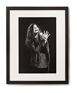 Sonic Editions | Framed Janis Joplin San Francisco Print 17 X