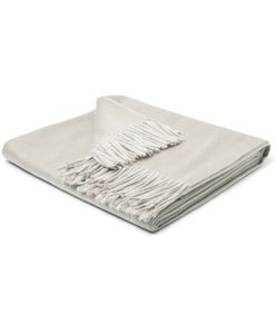 Soho Home | Portobello Fringed Double-Faced Cashmere Throw
