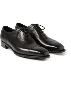 GEORGE CLEVERLEY | Anthony Cameron Leather Oxford Brogues