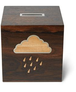 Linley | Rainy Day Wooden Money Box