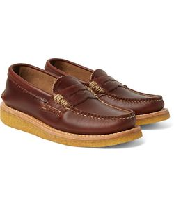 Yuketen | Leather Penny Loafers