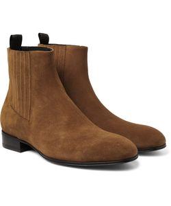 Balenciaga | Suede Chelsea Boots