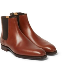 GEORGE CLEVERLEY | Leather Chelsea Boots