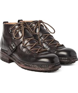 O'Keeffe | Alvis Washed-Leather Hiking Boots
