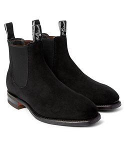 R.M.Williams   Comfort Craftsman Suede Chelsea Boots