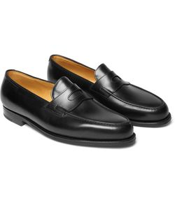 JOHN LOBB | Lopez Leather Penny Loafers