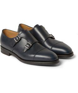 JOHN LOBB   William Ii Full-Grain Leather Monk-Strap Shoes