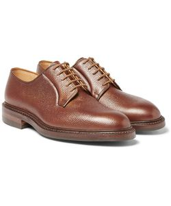 GEORGE CLEVERLEY | Archie Scotch-Grain Leather Derby Shoes