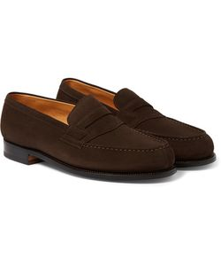 J.M. Weston | 180 The Moccasin Suede Loafers
