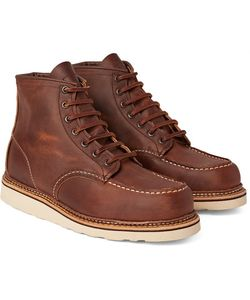 Red Wing Shoes | 1907 Classic Moc Leather Boots
