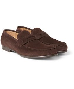 Harrys Of London | James R Suede Penny Loafers