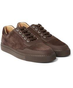 Harrys Of London | Mr. Jones 2 Leather-Panelled Suede Sneakers