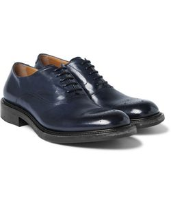 O'Keeffe | Polished-Leather Derby Shoes