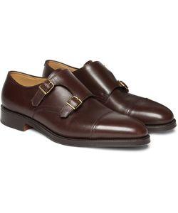 JOHN LOBB | William Leather Monk-Strap Shoes