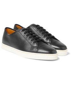 JOHN LOBB | Levah Full-Grain Leather Sneakers