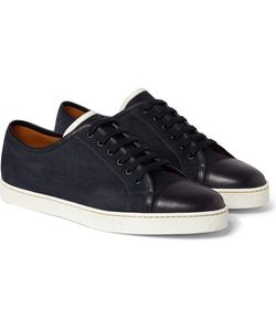 JOHN LOBB | Levah Suede And Leather Sneakers