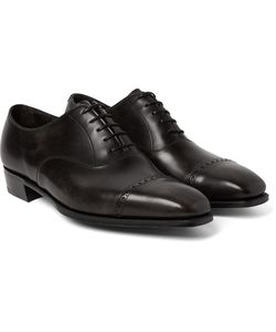 GEORGE CLEVERLEY | Nakagawa Leather Oxford Brogues