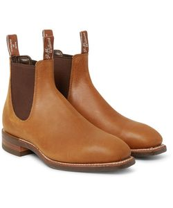 R.M.Williams   Comfort Craftsman Distressed Leather Chelsea Boots