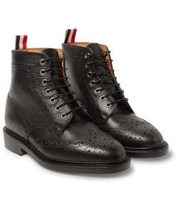 Thom Browne | Leather Wingtip Brogue Boots