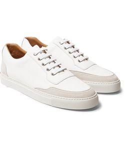 Harrys Of London   Mr. Jones 2 Suede-Panelled Leather Sneakers
