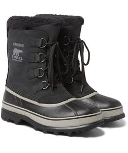 Sorel | Caribou Waterproof Nubuck And Rubber Snow Boots
