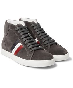 Moncler | La Montecarlo Suede High-Top Sneakers