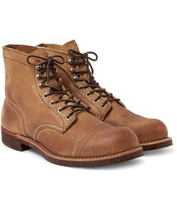 Red Wing Shoes | Iron Ranger Distressed Suede Boots