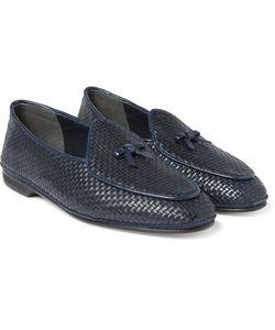 RUBINACCI | Marphy Woven Leather Loafers