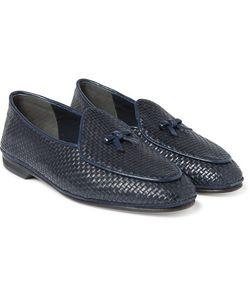 RUBINACCI | Marphy Woven Leather Loafers