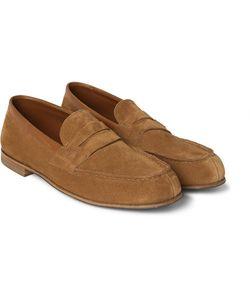 J.M. Weston | 281 Le Moc Suede Loafers