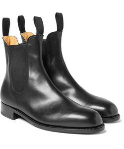 J.M. Weston | Leather Chelsea Boots