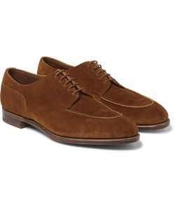EDWARD GREEN | Dover Suede Derby Shoes