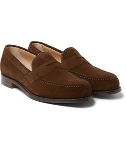 CHEANEY | Hudson Suede Penny Loafers